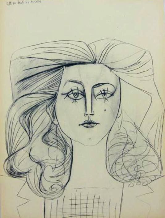 Drawing Lines In Muse : Francoise gilot picasso drawings pinterest