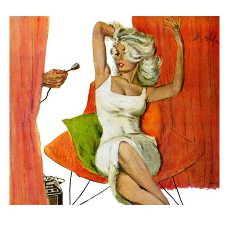 """Mother is a Movie Queen - Saturday Evening Post """"Leading Ladies"""", September 30, 1961 pg.41 Giclee Print by Coby Whitmore at AllPosters.com"""