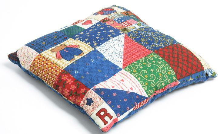 C mo hacer cojines de patchwork estimulacion pinterest - Cojines de patchwork ...