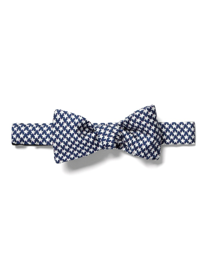 Ferragamo star print bow tie