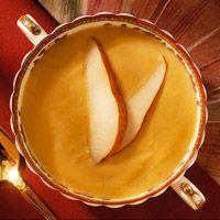 Autumn Pear and Pumpkin Soup