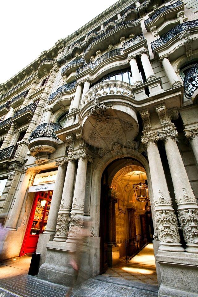 Barcelona hotel praktik rambla