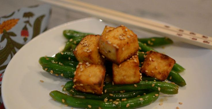 Roasted Tofu With Dipping Sauce Recipes — Dishmaps
