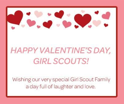 valentine girl scout patch