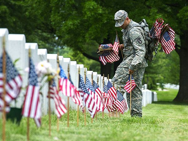 memorial day on the calendar