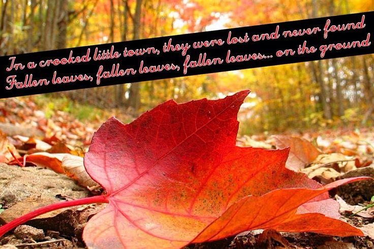 fallen leaves lyric: