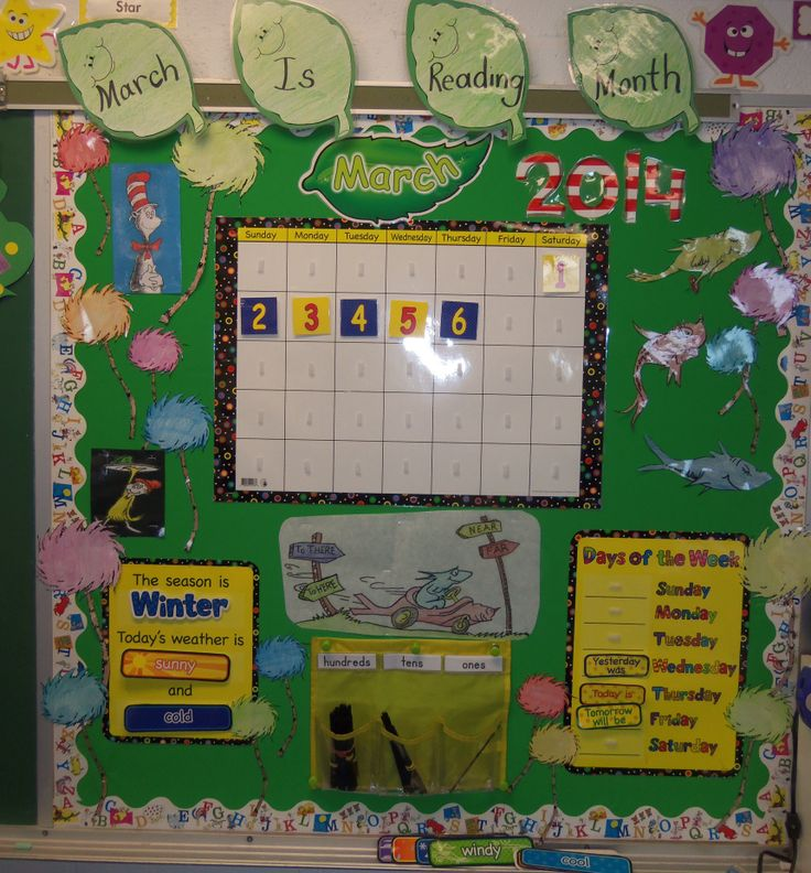 March is Reading Month calendar | Bulletin boards | Pinterest