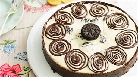 Cookies and cream cheesecake | Recipe