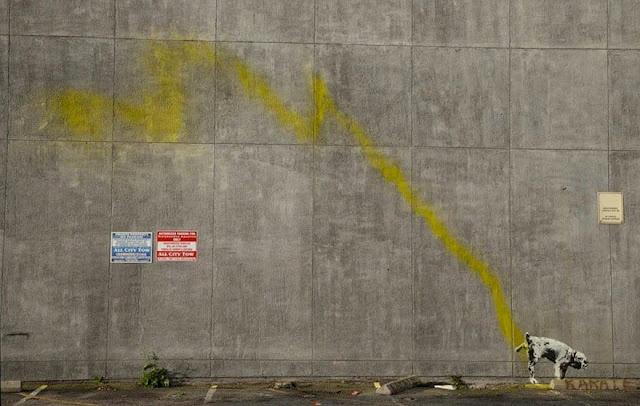 Banksy - no explanation needed :-)