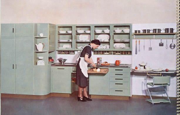 Jaren 30 Keuken Amsterdamse School : Piet Zwart Kitchen