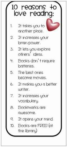 10 reasons to love reading books to read education pinterest