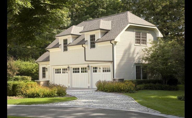 Big House With Garage Doors Garage Doors Pinterest
