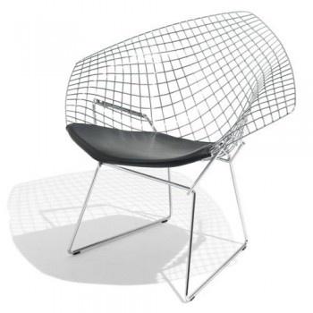 Fauteuil design milano fil de fer design chairs pinterest