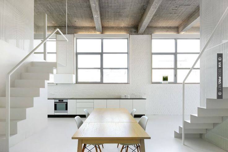 Loft apartment by adn architectures