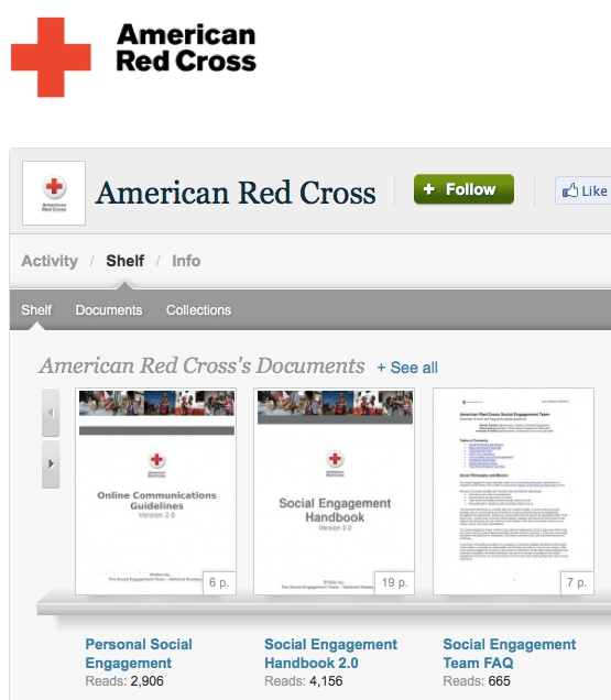 American Red Cross' family of social media policies and guidelines on ...