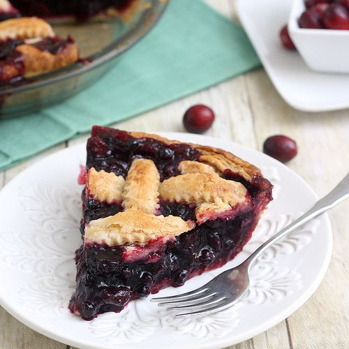 Cranberry and Wild Blueberry Pie | Let them eat cake | Pinterest