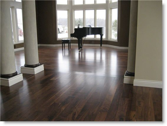 character grade finish in place walnut | Downstairs design board | Pi ...