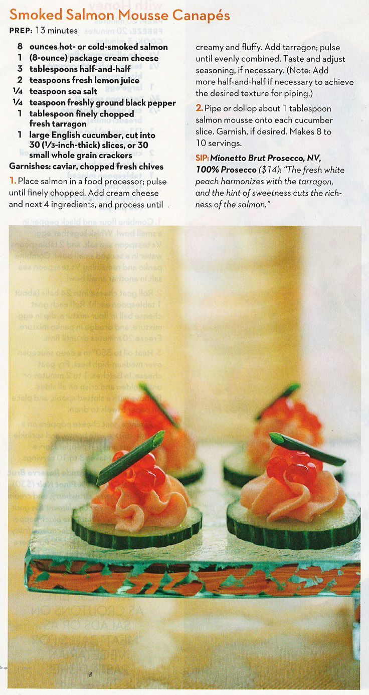 Screenshot 23 di starry sky images frompo for Salmon mousse canape