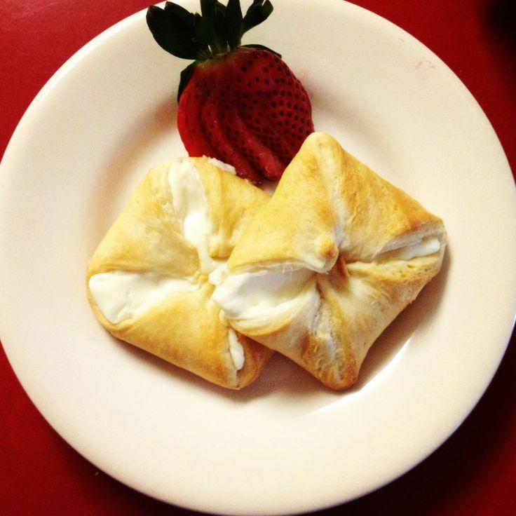 Cream Cheese Danish Using Crescent Dough | Yummy!!! | Pinterest