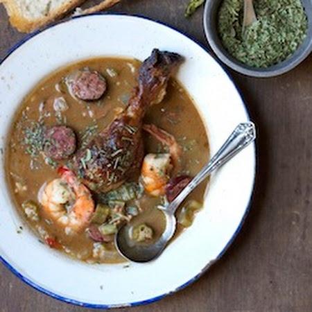 Shrimp, Chicken and Okra Gumbo   Cajun Cooking   Pinterest