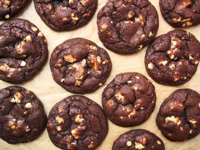 White Chocolate Chunk Chocolate Cookies | Tough Cookie | Pinterest