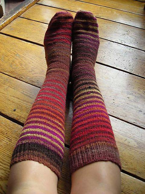 Lifestyle Toe Up Socks