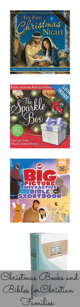 Christmas Books and Bibles for Christian Families --> LOVE this by @MommyB Knows