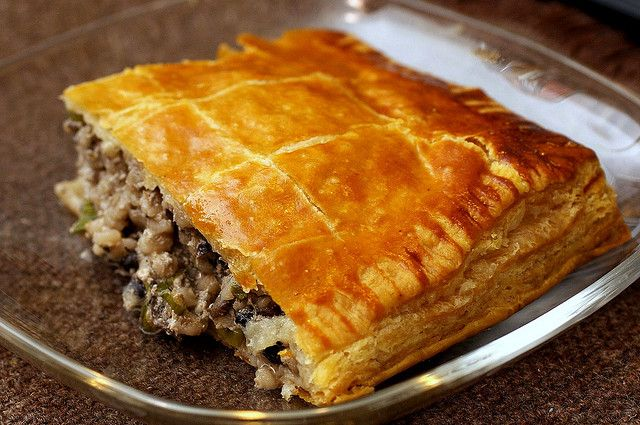 mushroom and barley pie | Home Cookin' to Do's - Healthy | Pinterest
