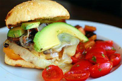 Chipotle Portobello Burgers *NOTE TO SELF: Skip the chipotle.