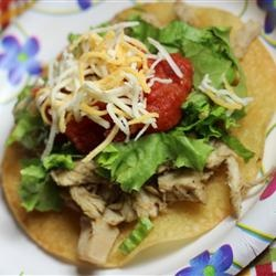 "Lime Chicken Soft Tacos | ""This was fabulous! My picky kid said she ..."