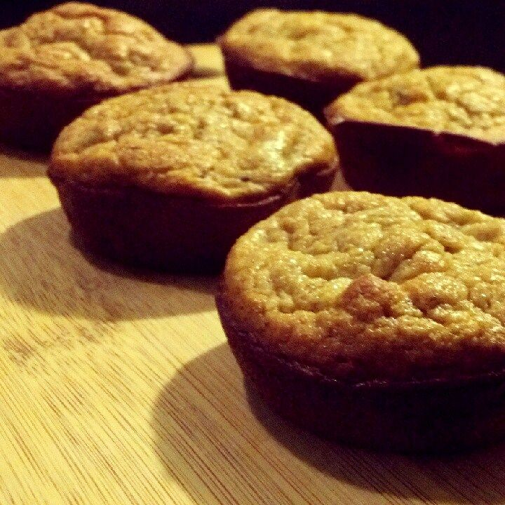 protein banana muffins using oat flour | High Protein Meals | Pintere ...