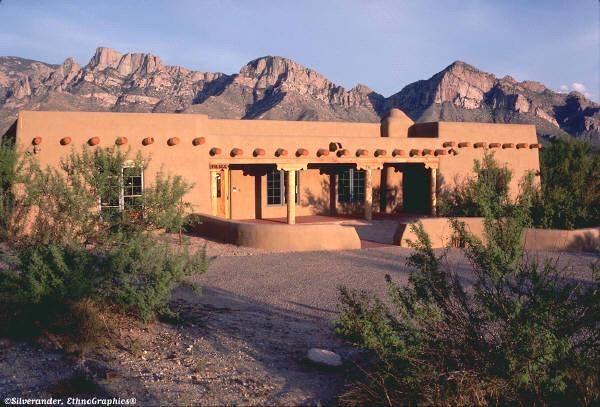 Adobe homes adobe house arizona home pinterest for Adobe home builders