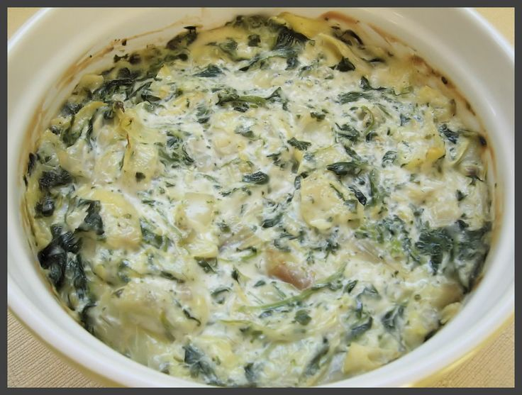 Baked Spinach-Artichoke Dip | Recipes | Pinterest