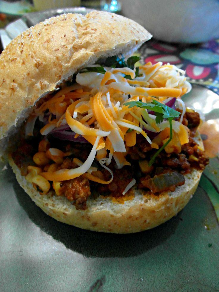 Tex Mex Sloppy Joes | cooking | Pinterest