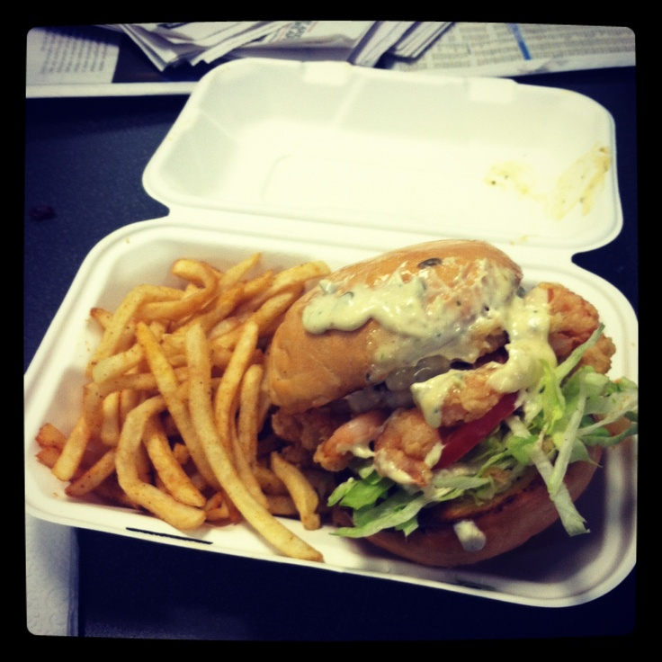 Shrimp Po Boy Sandwich | Creole | Pinterest