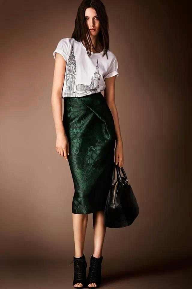 pencil skirt and t shirt skirts