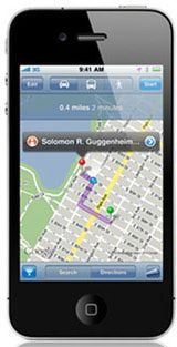 locate iphone on gps