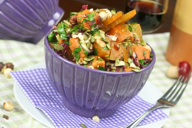 Oven Roasted Sweet Potato and Golden Beet Salad from The Healthy ...