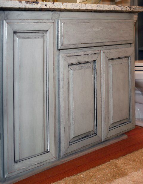 Pin by d will on kitchen ideas pinterest - How to glaze kitchen cabinets that are painted ...