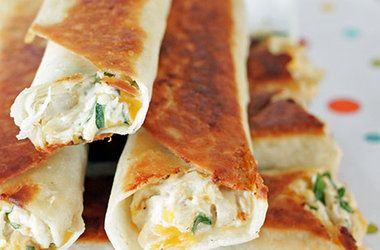 Chubby Chicken and Cream Cheese Taquitos | Food - Supper | Pinterest