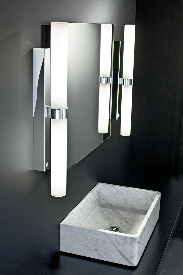 Lamparas Para Baño De Vapor:Wall lamp for bathroom with dimmer METRO 90 DECOR WALTHER