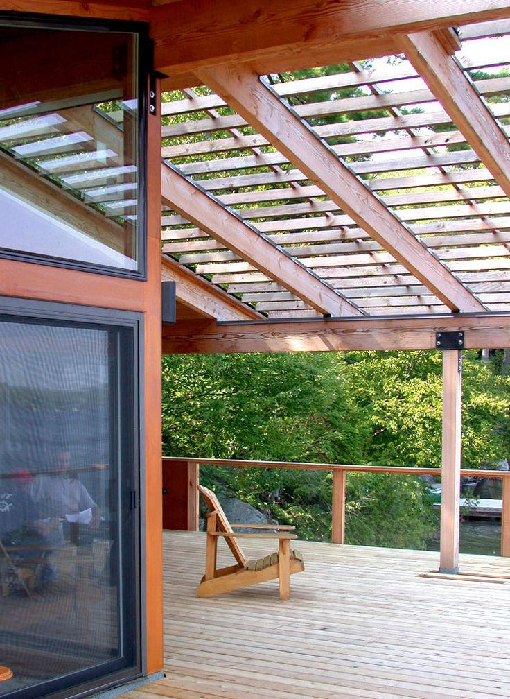 how to build a wood awning for window