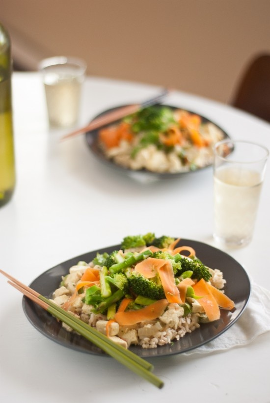 Vegetarian Thai Green Curry | Recipe