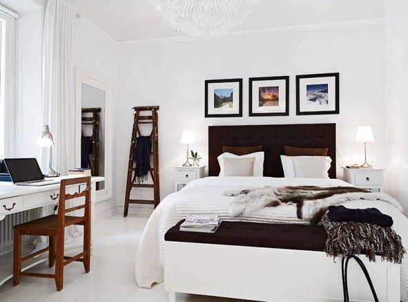 Vackert sovrum  Bedroom project  Pinterest