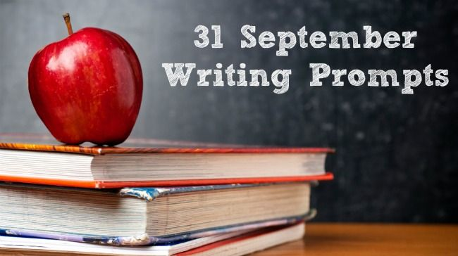 31 September Writing Prompts