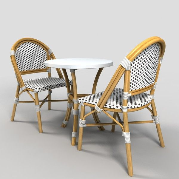cafe table and chairs by monkeyodoom french cafe pinterest