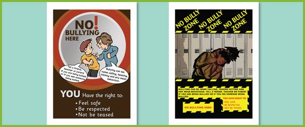 bullying poster ideas anti bullying posters free eyfs ks1 resources ...