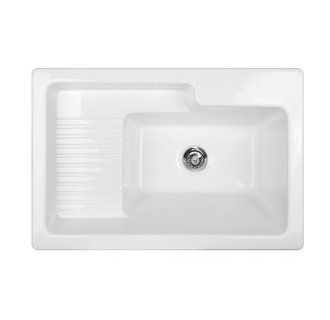 LAUNDRY ROOM SINK - CorStone 651 Hamilton Self Rim Sink with recessed ...