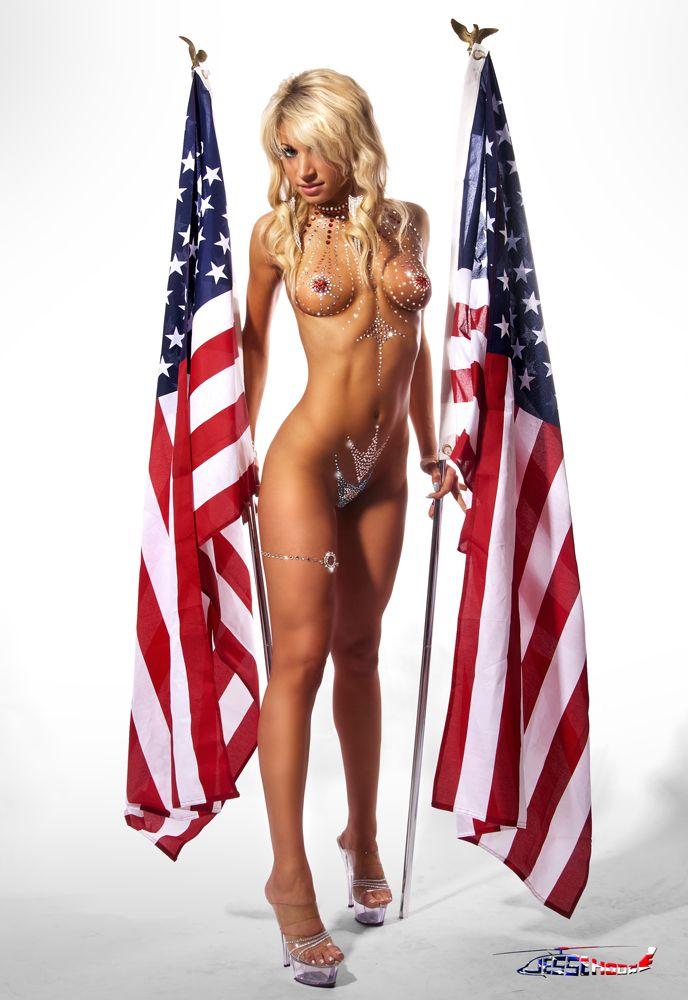 Обнаженных Американских
