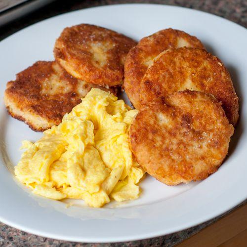 Mashed potato pancakes | Breakfast | Pinterest